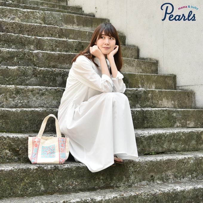 Pearls パールズ マタニティ ワンピース 授乳服
